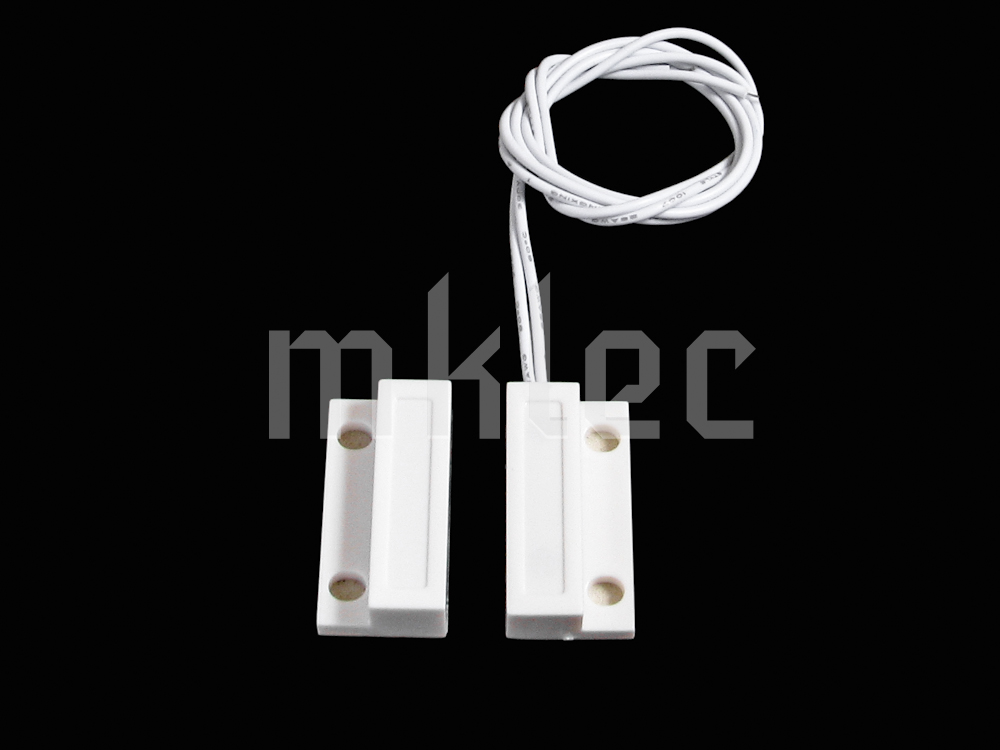 Door Window Sensor Magnetic Reed Switch For Security Alarm ...