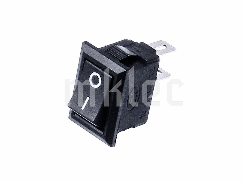 10mm X 15mm Black On Off Toggle Switch 3a